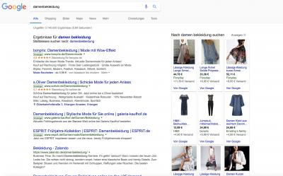 google adwords anzeigen beispiele